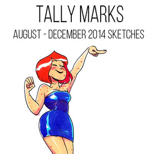 Tally Marks 2014 cover