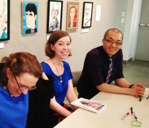 Natalie Nourigat Signing